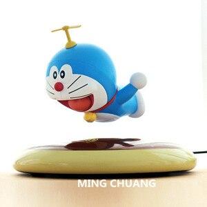 Electromagnetic levitation Doraemon Nobita's friend  ABS Action Figure Collectible Model Toy with tetail box 7CM Q87