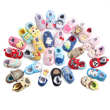 2019 Cotton Winter Newborn Baby Girl Shoes Soft Kids Baby Non-slip Shoes Infant Children Moccasins Prewalkers Boots First walker