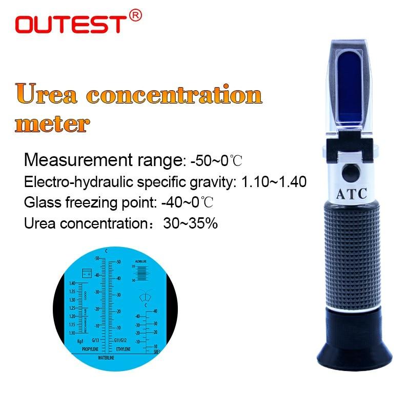 ATC Glycol Refractometer Oxygen Concentration Meter Car Antifreeze Battery Acid Engine Coolant Tester цены