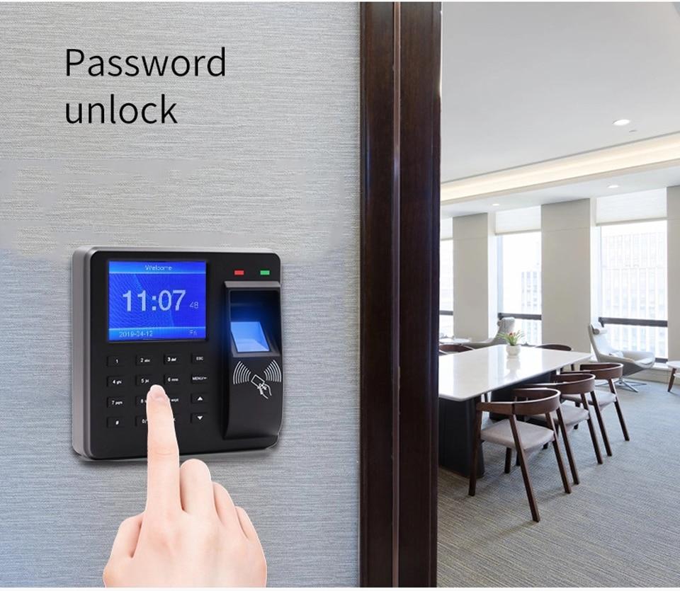 HTB11LD.aND1gK0jSZFKq6AJrVXav BX6 BX10 Biometric Fingerprint Access Control Intercom Machine Digital Electric RFID Code System For Door Lock Keys Tags