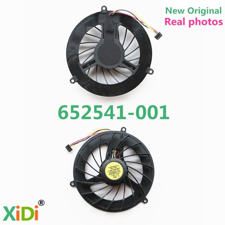 NEW Original FOR HP ELITEBOOK 8740W 8675W 8760W 8770W CPU COOLING FAN DFS601605MB0T 596047-001 652541-001 cooling fan for ml370g4 224977 001 original 95