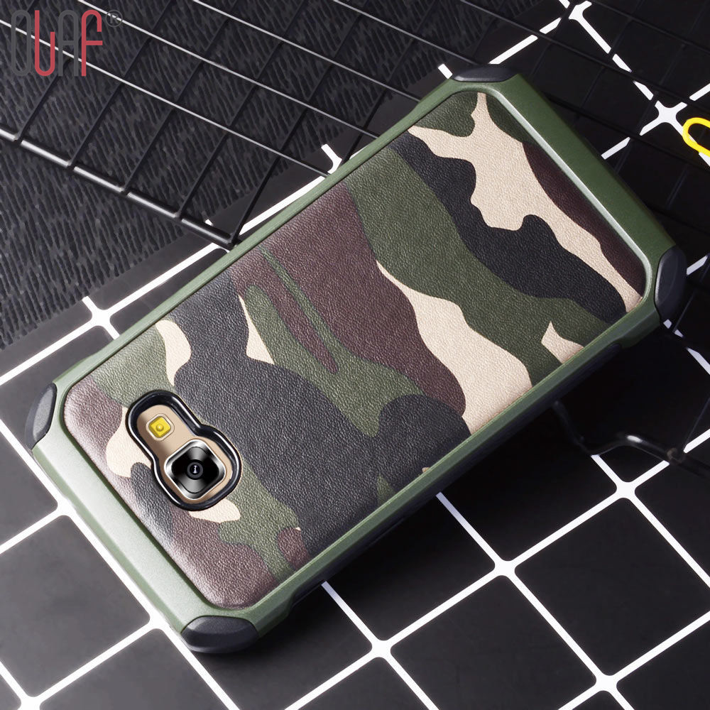 Olaf Military Camouflage Army 2 in 1 Camo Case For Samsung Galaxy A9 A5 A3 2017