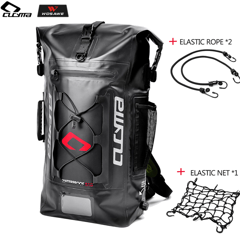 CUCYMA Motorcycle Bag Waterproof Motorbike Backpack Helmet Luggage Moto Tank Racing