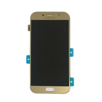 100% D'origine 5.2 ''Super Amoled Pour Samsung GALAXY A520 A5 2017 A520F SM-A520F LCD Affichage à L'écran Tactile Digitizer Assemblée