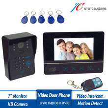 Motion detection color video doorphone with night vision HD font b camera b font for font
