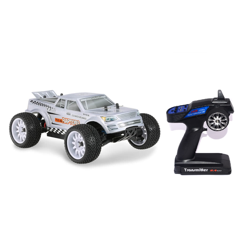 2018 New ZD Racing RC Car TX-16 1/16 4WD Driver Off-Road Cars RTR With 2.4G 3CH Remote Control Car For Children Kids Gift Toys