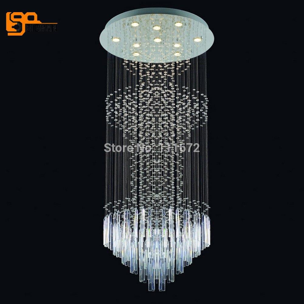 Crystal Chandelier Price: New Big Crystal Lamp K9 Crystal Chandelier Modern Luxury