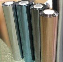 0,6 x7m Heißer Verkauf Solar Fenster Film Self Adhesive Tropfen Verschiffen Anti Uv Wärme Steuer Dekorative Glas Folie für privatsphäre Schutz