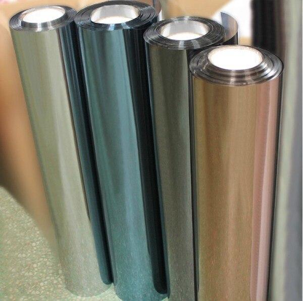 Film de fenêtre solaire 0.6x7 m Hotsale auto-adhésif Anti-UV isolation thermique décoratif feuille de Film de fenêtre pour la Protection privée