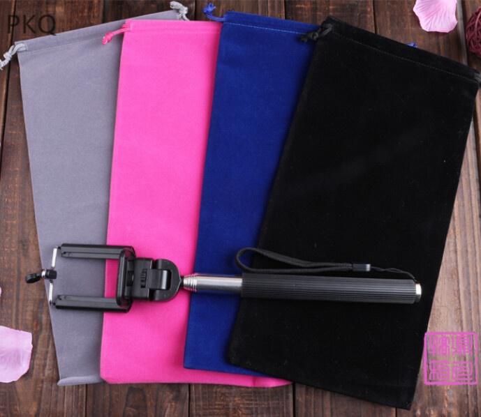 Velvet Gift Drawstring Pouch Bags 40x50cm30x45cm Wedding Holiday New Year Christmas Party Big Makeup Jewelry Bag BlackRedGray
