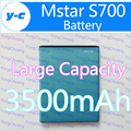 Mstar S700 Batería Nueva Original 3500 mAh Batería Batería Batería Batería de reserva Para Mstar S700 Teléfono Celular
