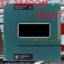 Original Intel Core I7 3840QM SR0UT CPU I7 3840QM 2.80 GHz 3.8 GHz L3 = 8M Quad core จัดส่งฟรีจัดส่งภายใน 1 วัน