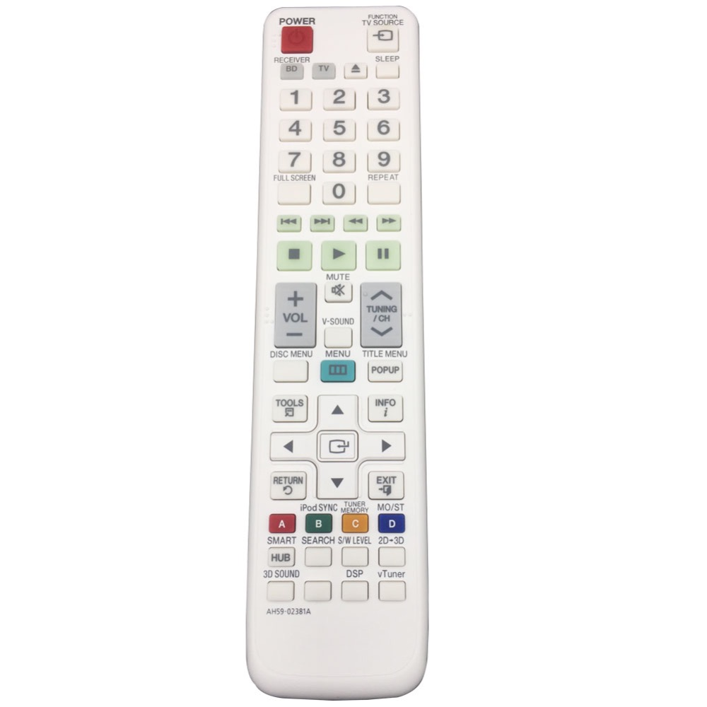 Remote Control Ah59 02381a For Samsung 2 1ch Blu Ray Home Entertainment System Ht D7200b D7200 In Controls From Consumer Electronics On