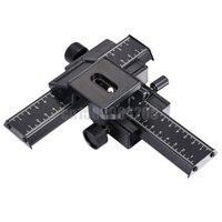 4 Way Macro Focusing Focus Rail Slider Shot For Nik N Can N D90 D3200 D5000