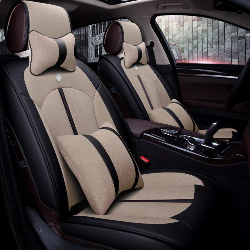 5D Стайлинг Автокресло Обложка Универсальный Подушки для Land Rover Discovery 3/4 Freelander 2 Sport диапазон Спорт Evoque стайлинга автомобилей
