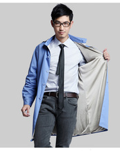 Men style silver fiber double – layer electromagnetic radiation coat with cap , computer room, EMF shielding, RFID block.