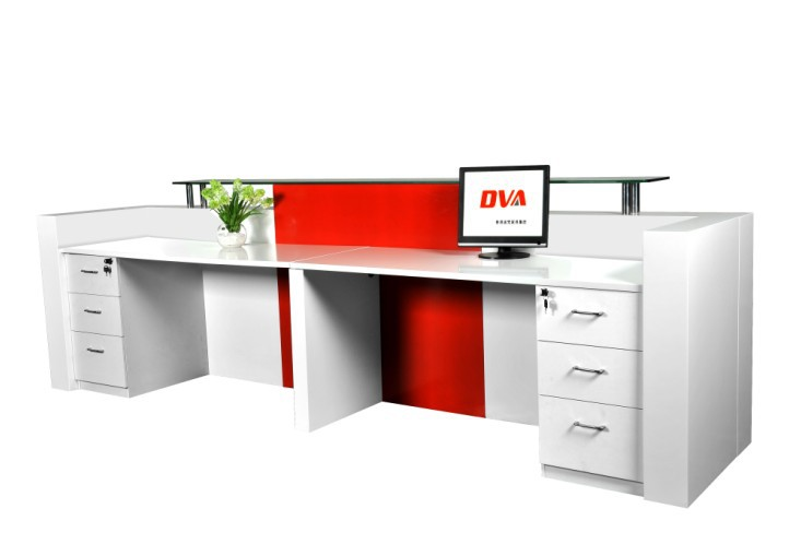 Fine Front Office Counter Furniture Popular And Fancy Elegant Display Throughout Design