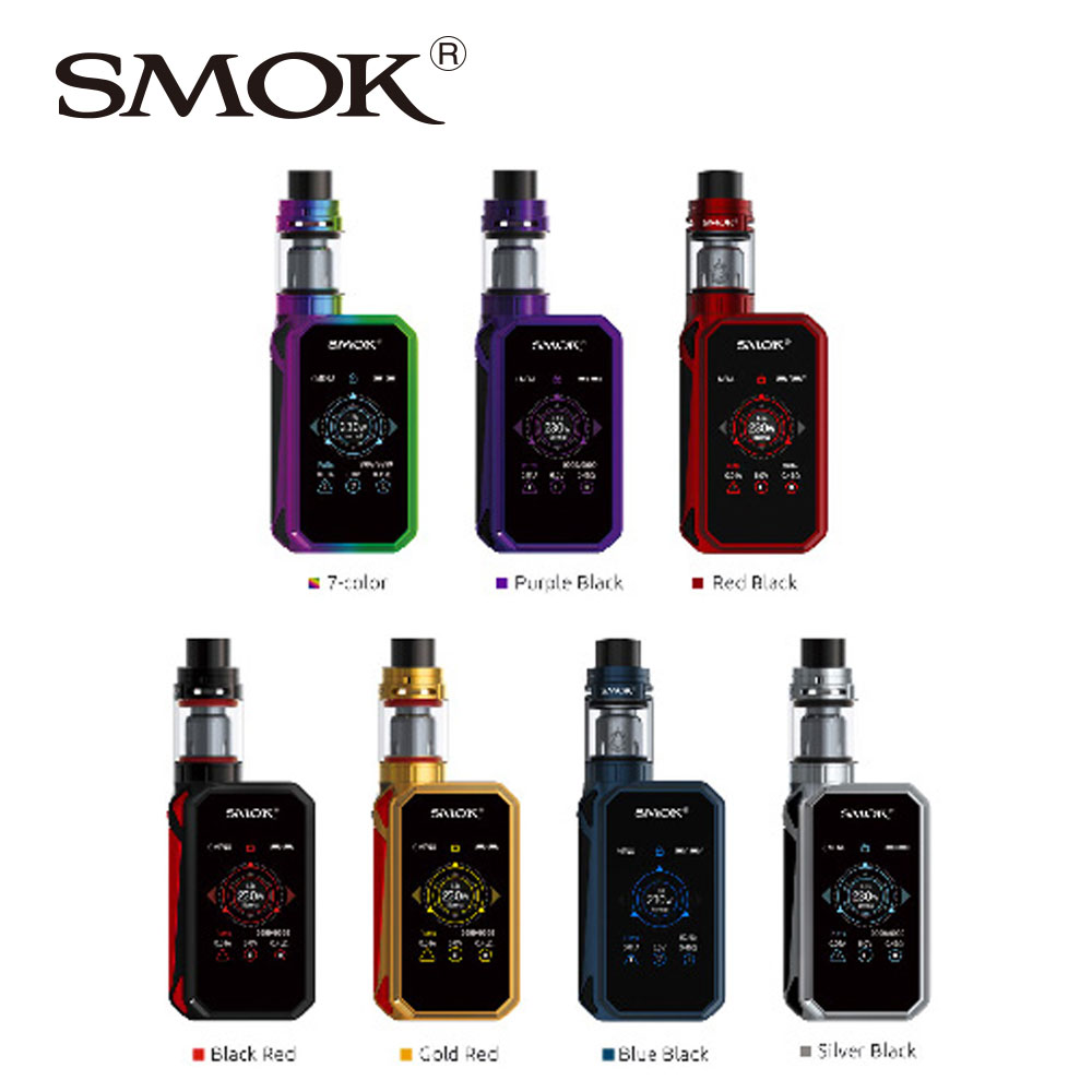 100% Original SMOK G-PRIV 2 Vape Kit W/ 4ml TFV8 X-BabyTank Standard Edition Version & 230W G-PRIV 2 Box Mod Vs Smok Alien Vape
