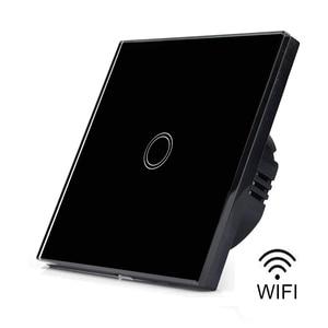 Image 2 - EWelink Smart Home Wifi Touch Schakelaar Waterdicht Crystal Glass Schakelpaneel Enkele Live lijn Geen Neutrale Lijn Schakelaar