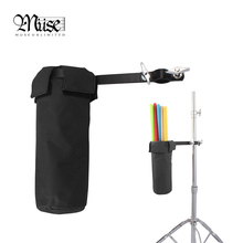 Muse – Drum Accessories High Quality 600D Drumstick Package Bag Case Drum Barrel Adjustable High Capacity Percussion Instrument