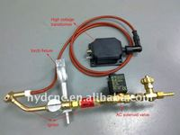 Auto ignitor for flame cnc controller cutting