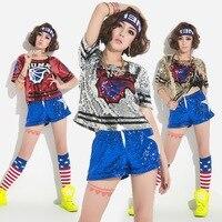 Nightclub DS adult jazz dance costumes modern dance stage hip-hop hip-hop DJ Dance Costume
