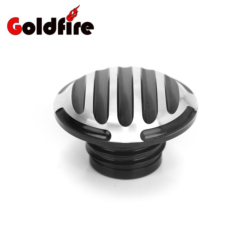 Universal Cnc Aluminum Motorcycle Fuel Tank Cover Gas Tank Oil Cap For Harley Dyna Softail Sportster XL883 1200 48 chrome switch housing cover for harley switch softail cover sportster dyna v rod xl 883 1200