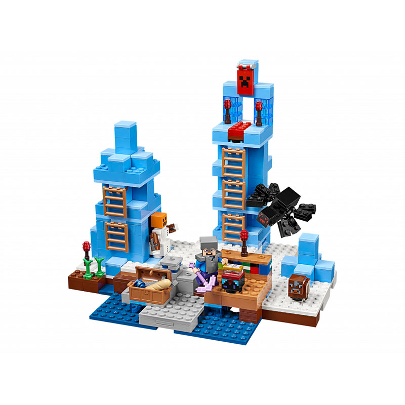 Pogo Lepin Bl Building Blocks Bricks Action Figures Toys Minecrafted My World Gifts For Children Zombies Compatible Legoe dhl new lepin 06039 1351pcs ninja samurai x desert cave chaos nya lloyd pythor building bricks blocks toys compatible 70596