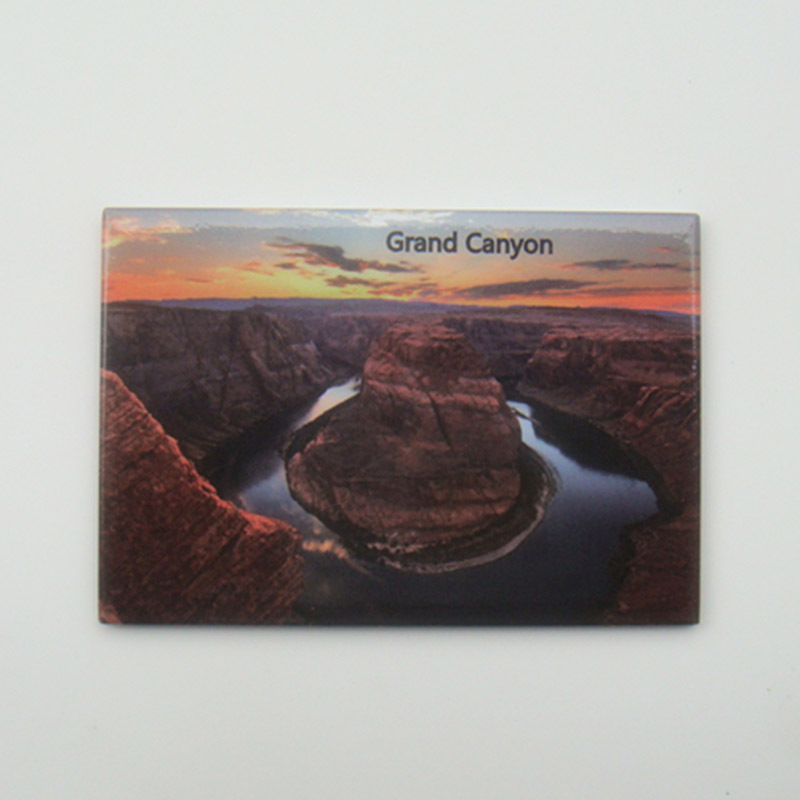 USA Travel Magnets Gifts Mixed Lot Buy 6pcs US Florida Grand Canyon Tourist Metal Fridge Magnet SFM5163 Travel Memorabilia