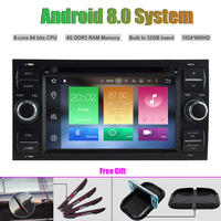 Octa Core Android 8.0 CAR DVD Player for FORD FOCUS Mondeo S MAX C MAX Galaxy Fusion FIESTA