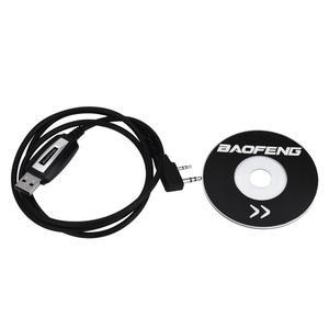 Image 1 - USB كابل برجمة برنامج برنامج CD لأجهزة الراديو Baofeng UV 5R BF 888S Jan 22