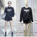 Kpop Moda de harajuku mujeres calle Sudaderas Con Capucha de algodón sudadera de cuello redondo mujer de manga larga pullover mujeres hoodies BTS En Dificultades