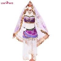 Nozomi Tojo Cosplay Love Live School Idol Project Awakening Arab Dancer ASCOSING Idolized Costume With Veil