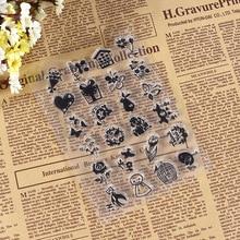 Hot Christmas House / Transparent Seal Creative Handbook Silicone Stamp DIY Scrapbook Album Card Making