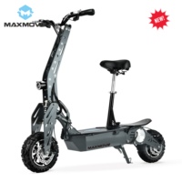 Popular 48v 1600w brushless motor folding electric mobility scooter with rechargeable battery for adults