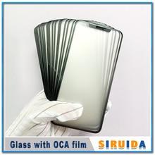 1 шт. 2в1 ЖК передняя стеклянная внешняя с OCA пленка для iPhone Ten X/XR/XS/XS-MAX сенсорный экран сломанная линза Замена Ремонт