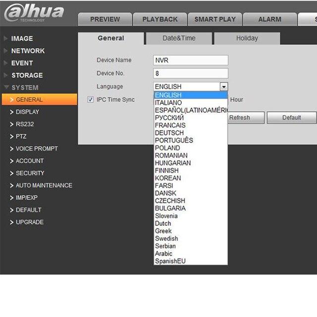 Dahua-POE NVR 16 canaux 1U 16 PoE | port 4K, enregistreur vidéo H.265 Pro NVR, à résolution 12 mp, 3D intelligent