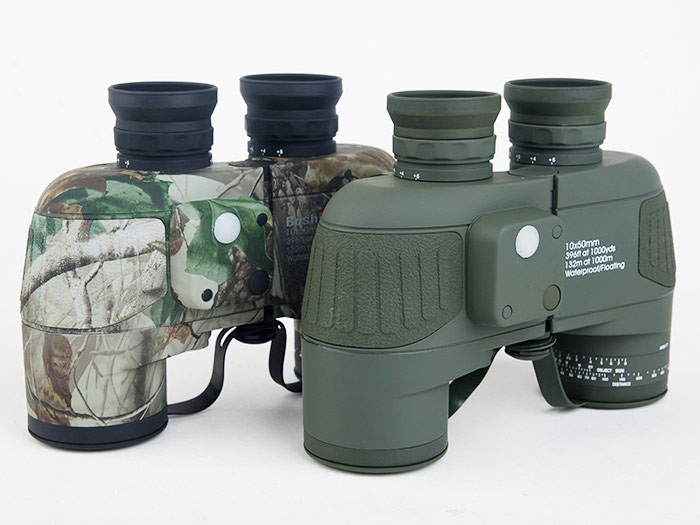 High Quality 10x50 Military Marine Tactical Waterproof Floating HD Binoculars with Reticle Rangefinder Compass Hunting Telescope стоимость