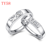 TY58 TYME חדש מגיע אופנה jewerly טבעת זוג מתנה