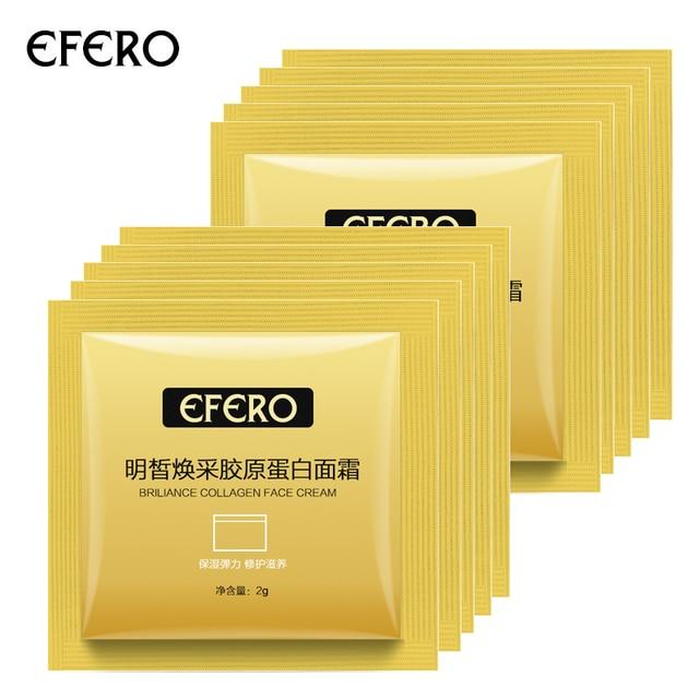 10packs Collogen Moisturizing Face Cream Skin Care Whitening Cream Lifting Firming Anti Wrinkle Serum for Face Cream Essence 1