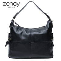 Fashion Genuine Leather Women HOBO Handbags Famous Brand Women Messenger Bags Cross Body Bucket Ladies Shoulder