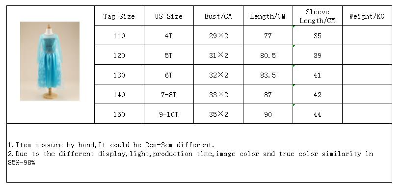HTB11LHnd.D.BuNjt h7q6yNDVXas 2019 Children Girl Snow White Dress for Girls Prom Princess Dress Kids Baby Gifts Intant Party Clothes Fancy Teenager Clothing