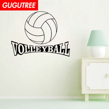 Decorate Home 42x72cm volleyball art wall sticker decoration Decals mural painting Removable Decor Wallpaper LF-490 new diy wallpaper mangnolia flowers wall painting stickers home decor decoration removable art decals dnj998