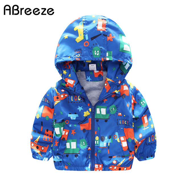 db94763ea507 ABreeze 2018 Spring Autumn boys hoodies New children outerwear jackets  Cartoon Plane print kids Top clothing