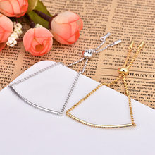 High Quality New Fashion Zircon Bracelet Gold And Silver Color Simple Crystal Bracelets For Women Jewelry ZK40(China)