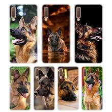 Silicone Phone Case Shepherds Dog German Printing for Samsung Galaxy A8S A9 A8 Star A7 A6 A5 A3 Plus 2018 2017 2016 Cover g whitefield chadwick while shepherds watched