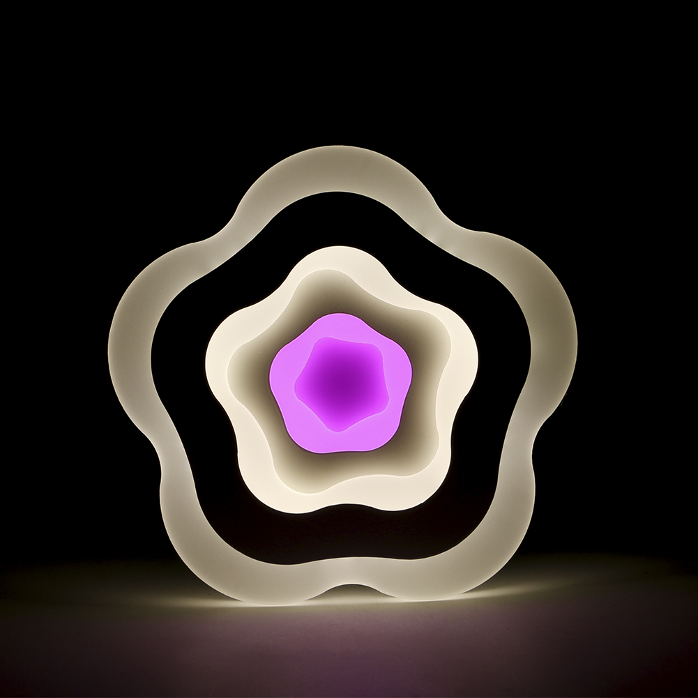 Neue Moderne Kreative Rose Blumen Wandleuchten Wohnzimmer Schlafzimmer Caf Nachttischlampen Dekorative AC86V 265V