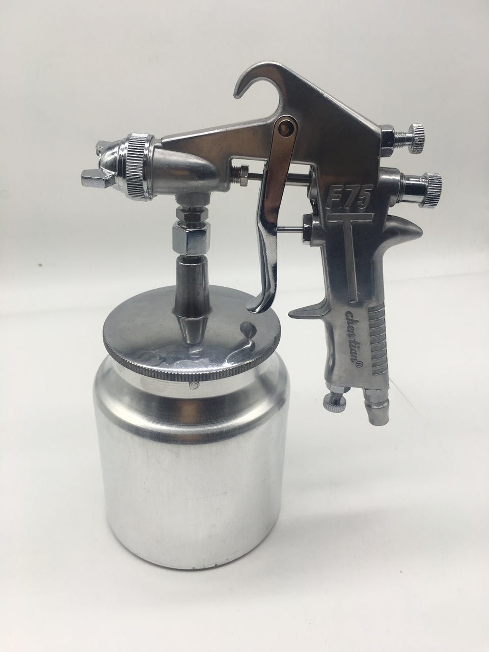 Spray Gun High atomization 1.5mm F-75 High-end furniture Pneumatic paint spray nozzle Paint gun Alloy Painting Paint Tool
