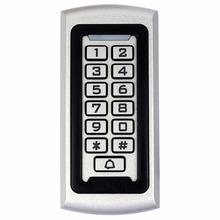 Klawiatura Rfid kontroli dostępu 125 Khz EM ID takich atrakcji jak wejście zamek kontroli dostępu System anty-akty wandalizmu wodoodporna metalowa przypadku tanie tanio Access Control System Nie Bezpieczny Brak retekess RFID Access Control Keypad Access Control RFID Lock