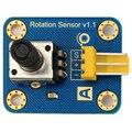 Nova marca sensor de Ângulo de Rotação do potenciômetro ajustável 300 graus sensor de Ângulo de Rotação 1 pcs tijolos eletrônicos